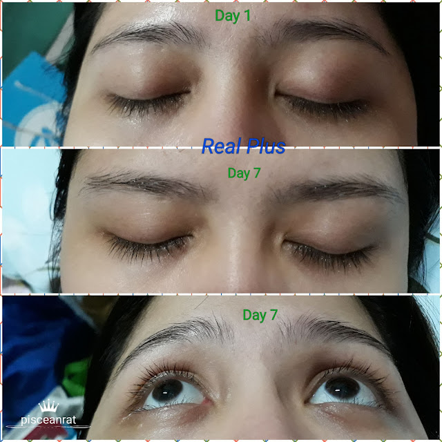 Thai White Skin Care Organics Real Plus eyelash enhancer review