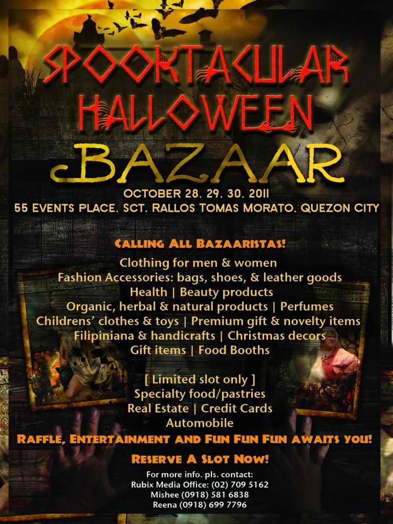 spooktacular halloween bazaar