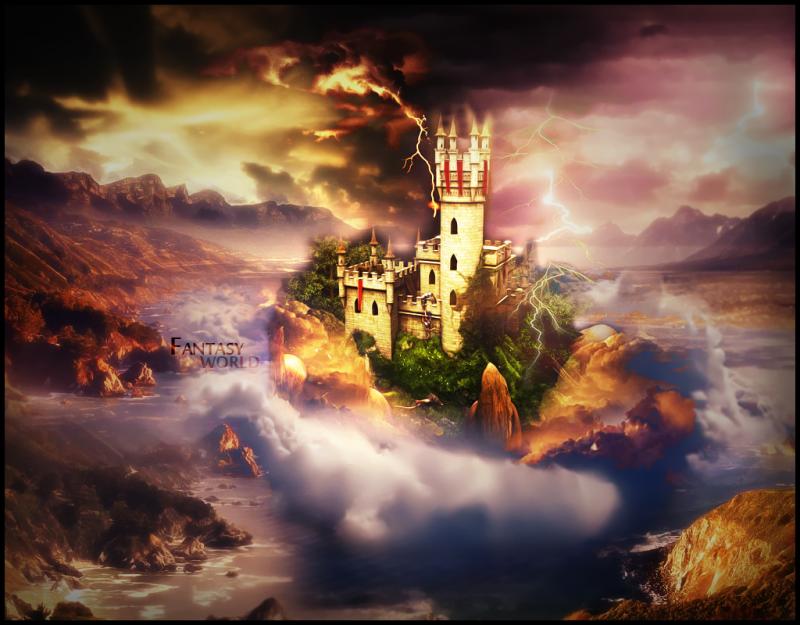... Dream Fantasy Magic Castle Child Wallpapers: Castle Wallpapers ...