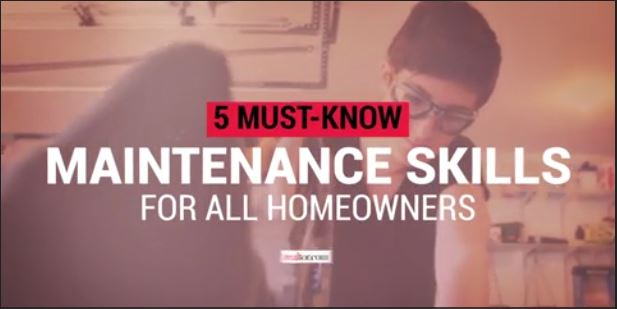 5 Maintenance Skills for Homeowners