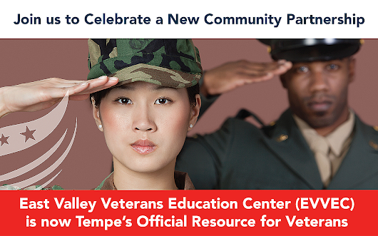 Rio Salado College | RioNews: EVVEC & City of Tempe Unite to Help Vets