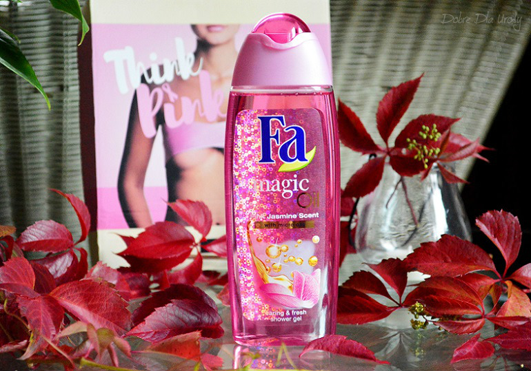 ShinyBox THINK PINK - FA Magic Oil Żel pod prysznic