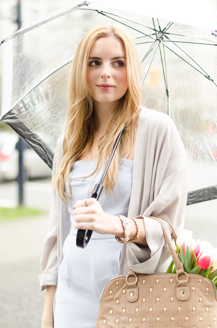 the urban umbrella style blog, vancouver style blog, vancouver fashion blog, vancouver lifestyle blog, vancouver health blog, vancouver fitness blog, vancouver travel blog, canadian fashion blog, canadian style blog, canadian lifestyle blog, canadian health blog, canadian fitness blog, canadian travel blog, bree aylwin, how to style a jumpsuit, baby blue jumpsuit, strapless jumpsuit, forever 21 blue jumpsuit, what to wear with a jumpsuit, what to wear on a rainy day, rainy day style, casual daily outfit blog, cute umbrella, cute spring style, best fashion blogs, best style blogs, best lifestyle blogs, best fitness blogs, best health blogs, best travel blogs, top fashion blogs, top style blogs, top lifestyle blogs, top fitness blogs, top health blogs, top travel blogs