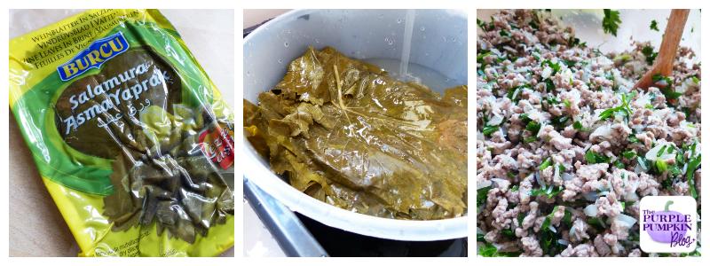 How To Make Dolmades [Stuffed Vine Leaves]