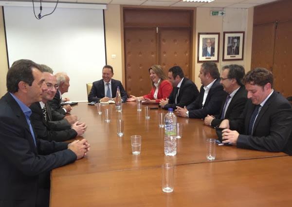 Οι Καστοριανοί γουνοποιοί συναντήθηκαν με τον Υπουργό Οικονομικών κ. Γ. Στουρνάρα