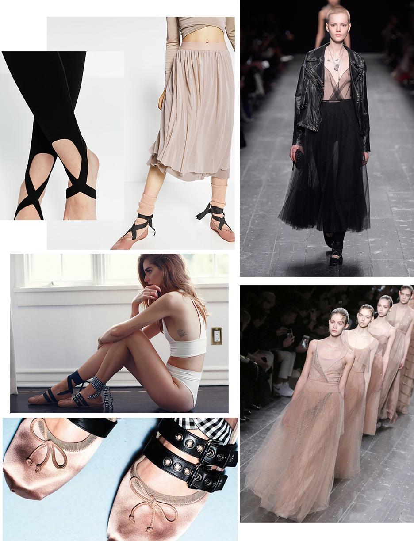 ballet trend, ballet flats, fall 2016 trends