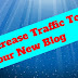 How to increase traffic to your new blog ?