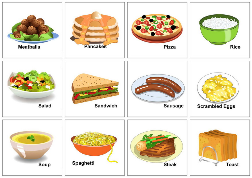 Food And Drink: Sofi Loves English: Food Vocabulary