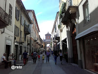 via Vittorio Emanuele II a Chieri