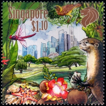 Our City In A Garden - S$1.10, the Dragonflies