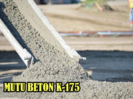 HARGA JAYAMIX MUTU BETON  K 175