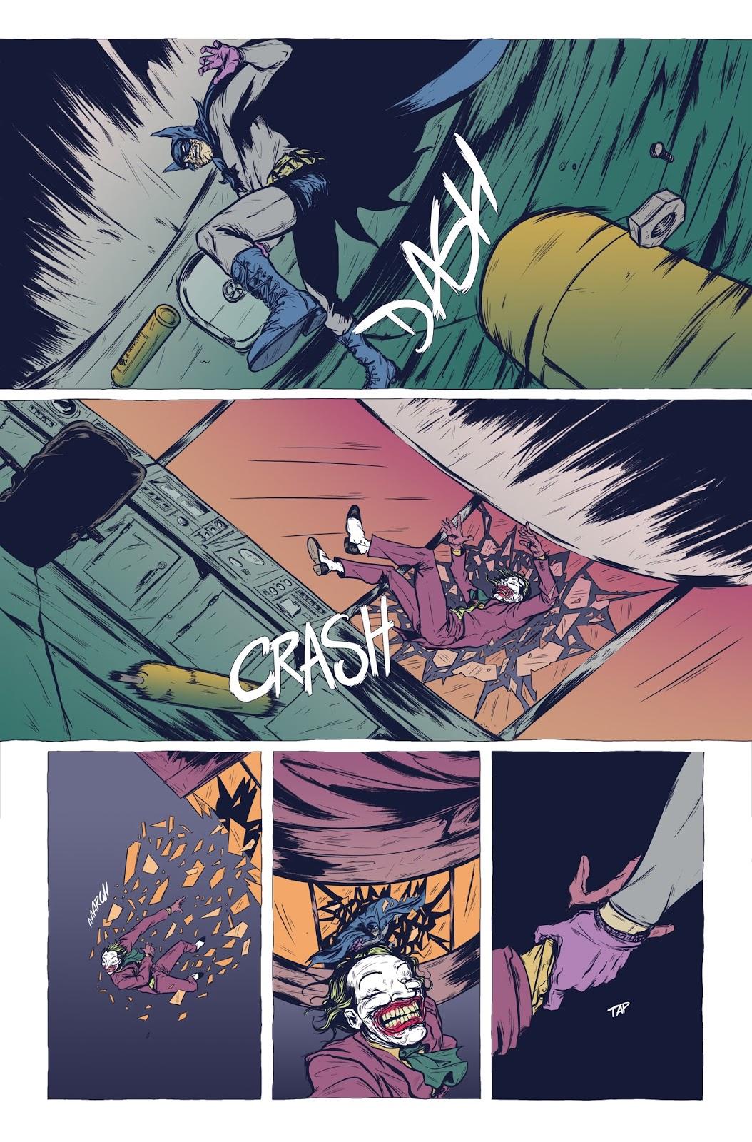 Moonhead Press: Batman: The Deal