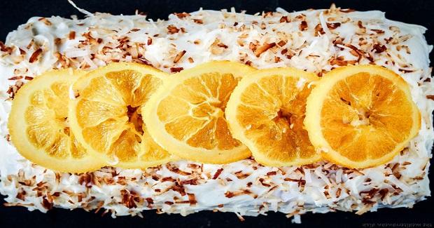 Orange Cake Recipe With Coconut Cream Cheese Frosting Recipe