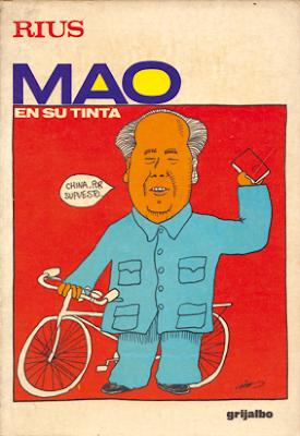 Rius Mao en su tinta comic político