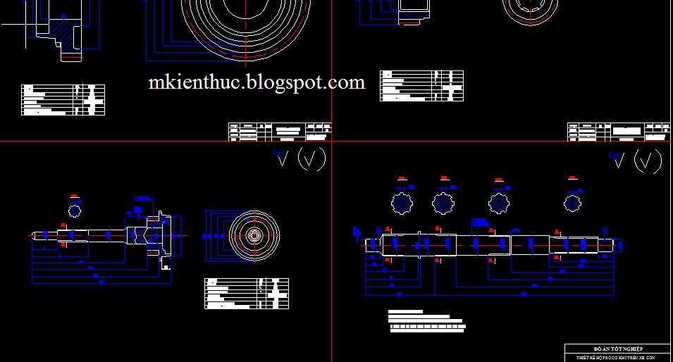 đồ án tính toán thiết kế hộp số cơ khí trên xe con có ứng dụng CATIA và COSMOS