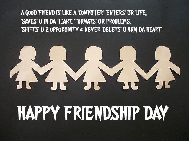 Friendship Day Shayari Wallpaper For Girlfriend In Hindi