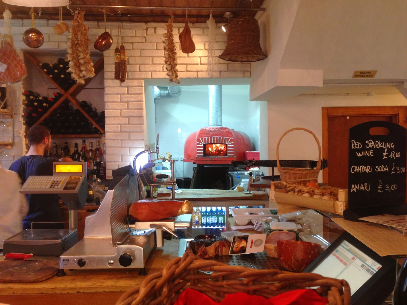 Review Very Italian Pizza Brighton Rosie Posies