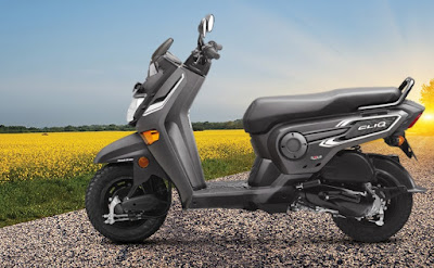 Honda Cliq Orcus Grey Image