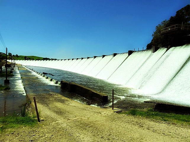 A Barragem do Salto, em São Francisco de Paula, foi concluída em 1951