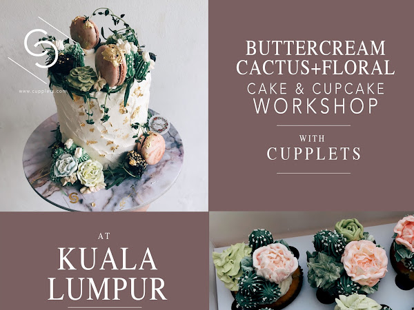KL Workshop - Cake Decorating  14th & 15th April 2018