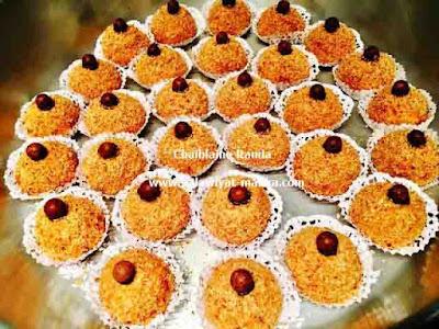 حلوة جوز الهند المحمص