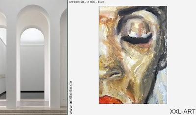 Große Ölgemälde, hochwertige Acrylbilder, Berlin-Kunst im Büro