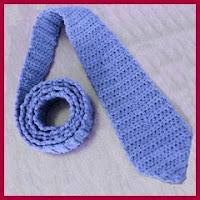 Corbata de crochet