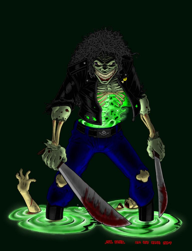 Dr. Theda's Crypt: Evil Ernie  Dr. Theda's...