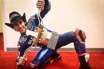 Hasil Motogp Amerika 2019, Alex Rins Juara, Marquez Terjatuh