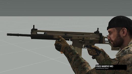 Arma3用Mk20 SSR MOD