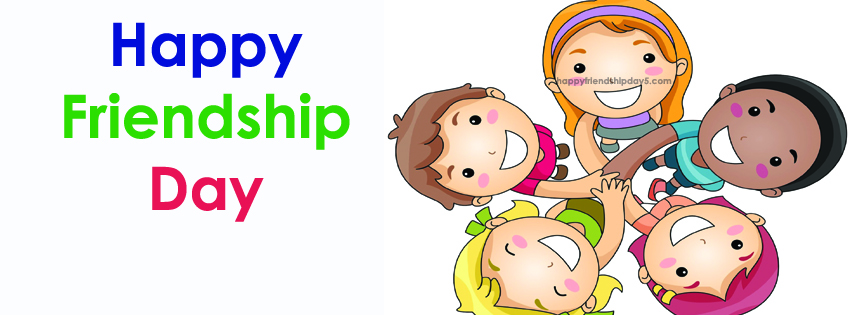 happy friendship day facebook cover HD