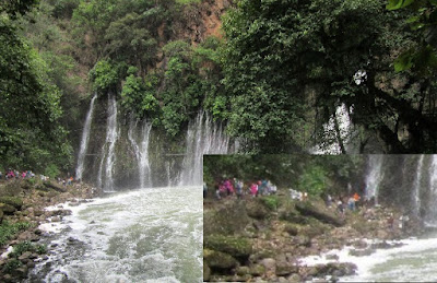 La Tzaráracua Waterfalls in Michoacán