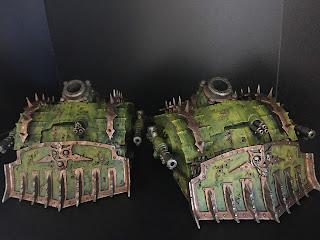 plague burst crawler painting warhammer 40k nurgle