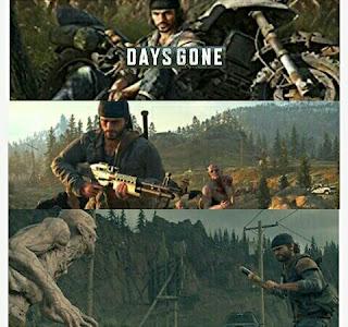 Video Game - Days Gone - PS4 Platform