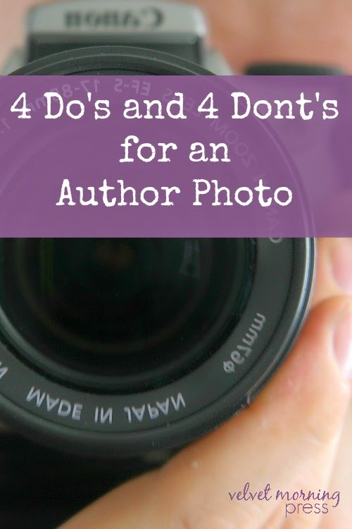 4 Do's and 4 Dont's for an Author Photo