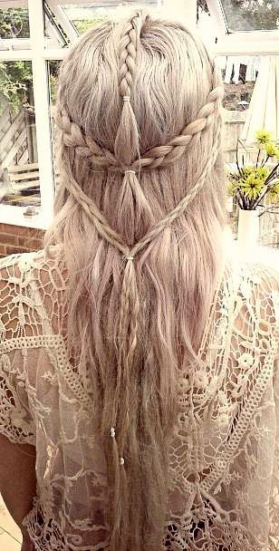 trendy summer braid idea