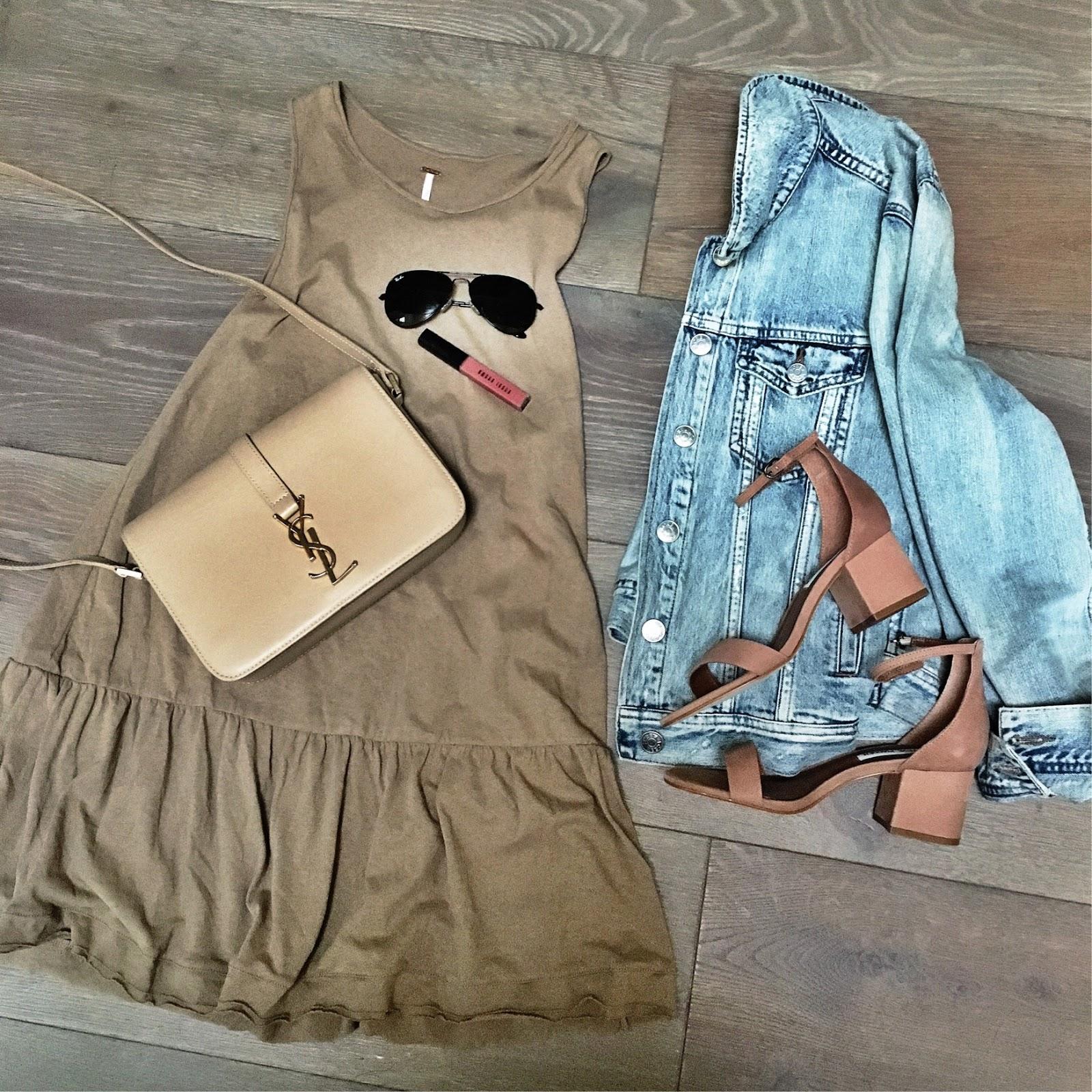 peplum dress outfit