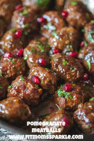 meatballs, thanksgiving, holidays, meals, meal planning, paleo, dairy free, gluten free, pomegranate