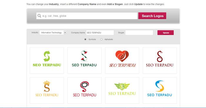 Cara Membuat Logo Online di Situs DesignMantic 2