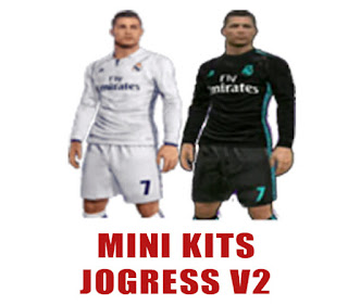 Update Mini Kits 2017 Jogress V2 All Klub For PPSSPP Android