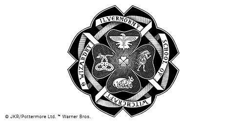 Ilvermorny school emblem