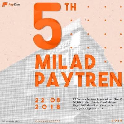 Ulang tahun ke-5 PayTren dan ulang tahun ke-1 PayTren Academy