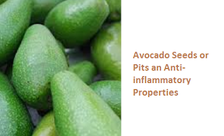 Avocado Seeds or Pits an Anti-inflammatory Properties