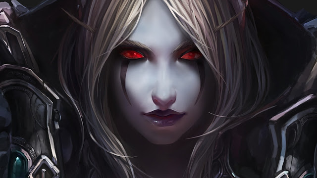lady sylvanas windrunner wallpaper 8