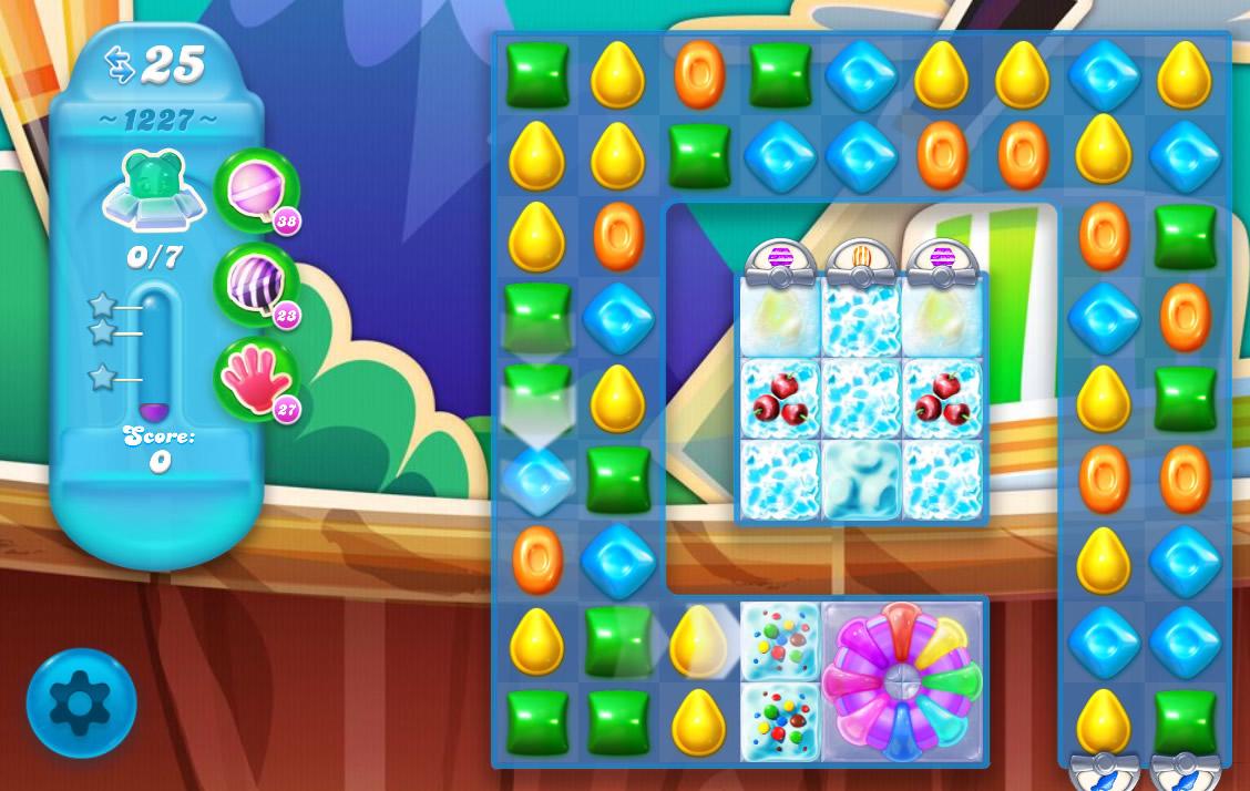 Candy Crush Soda Saga level 1227