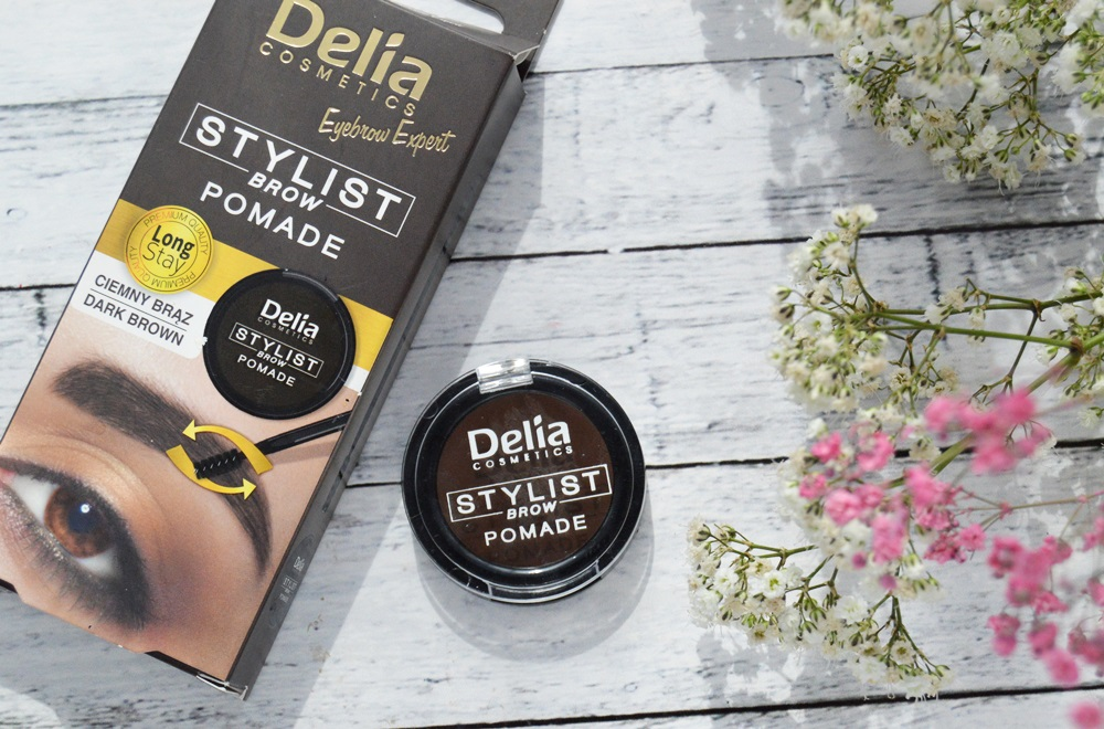 Pomada do brwi Delia Cosmetics dark brown