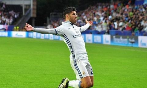 Asensio được ví là Ronaldo đệ nhị