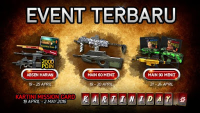 Event Point Blank PB Terbaru April 2016