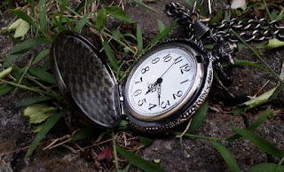 Jam Saku Antik Scorpion Steampunk Relogio De Bolso With Necklace Chain PB027