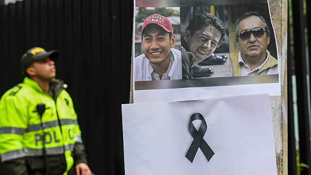 Colombia confirma que los cuerpos hallados corresponden a los periodistas asesinados